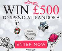 win £500 pandora