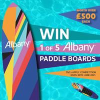 albany paddle board