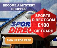 Sports Direct mystery shopper