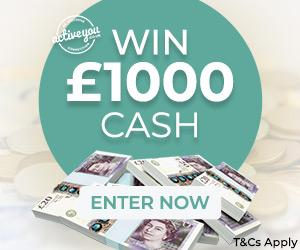 £1,000 cash