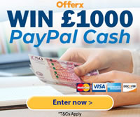 win £1,000 paypal cash