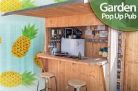 garden pop up pub shed